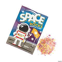 Space Rocks Popping Hard Candy Fun Packs