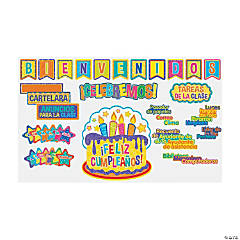 Spanish Welcome/Class Organization Bulletin Board Set