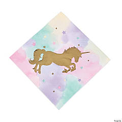 Sparkle Unicorn Luncheon Napkins