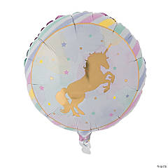 Sparkle Unicorn Mylar Balloon