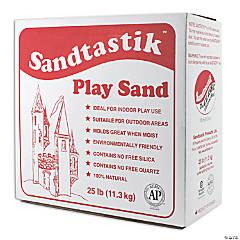 Sparkling White Play Sand - 25 lb (11.3 kg)