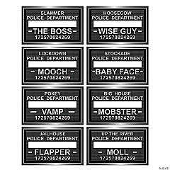 Speakeasy Mug Shot Signs