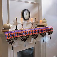 Spellbound Mantel Scarf Halloween Decoration