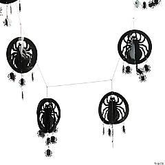 Spider Garland Halloween Decoration