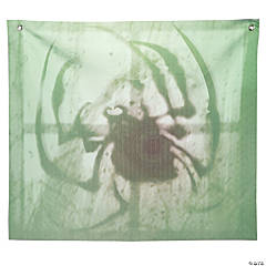 Spider Shadow Window Backdrop Halloween Decoration