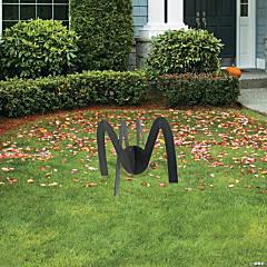 Spider Yard Signs Halloween Decorations