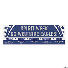 Spirit Week Custom Banner - Large