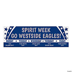 Spirit Week Custom Banner - Small