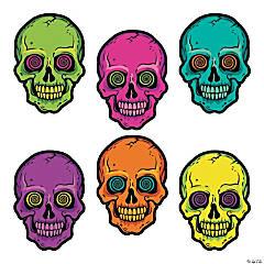 Spookadelic Neon Skull Cutouts