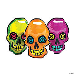 Spookadelic Skull-Shaped Goody Bags