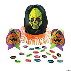 Spookadelic Table Halloween Decorating Kit