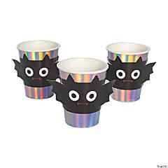 Spooktacular Bat Iridescent Paper Cups