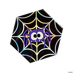Spooktacular Spider Paper Dinner Plates - 8 Ct.