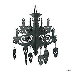 Spooky Floral Chandelier