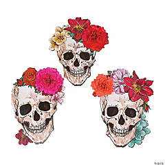 Spooky Floral Wall Cutouts