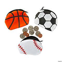 Sport Ball Coin Purses