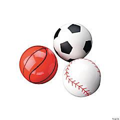 Sports Balls Bouncy Ball Assortment