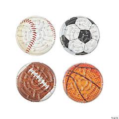Sports Balls Maze Puzzles