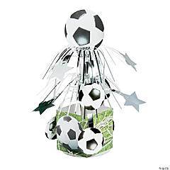 Sports Fanatic Soccer Centerpiece