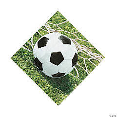 Sports Fanatic Soccer Luncheon Napkins