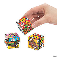 Sports Icon Mini Puzzle Cubes