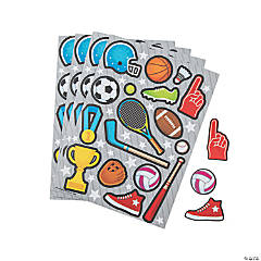 Sports Icon Sticker Sheets