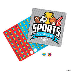 Sports Icons 3-in-1 Game Sets
