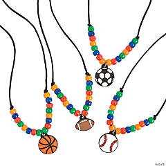 Sports Necklace Craft Kit