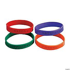 Sports Rubber Bracelets