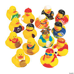 Sports Rubber Duckies Assortment