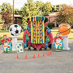 Sports Trunk-or-Treat Décor Idea