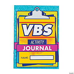 Sports VBS Activity Journals