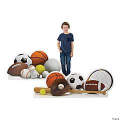 Sports VBS Ball Cardboard Stand-Ups
