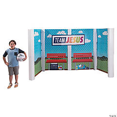 Sports VBS Large Dugout Stand-Up