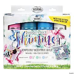 Spray Chalk Kit 4/Pkg-Shimmer