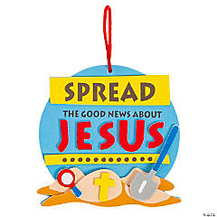 Spread the Good News Ornament Craft Kit