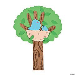 Spring Bird Handprint Tree Craft Kit