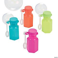 Spring Brights Mini Bubble Bottles - 48 Pc.