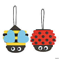 Spring Bug Craft Stick Ornament Craft Kit