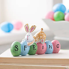 Spring Bunny Tabletop Decoration