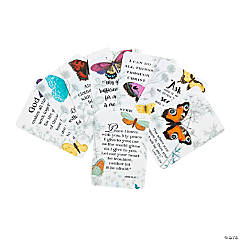 Spring Butterfly Faith Wallet Card Assortment