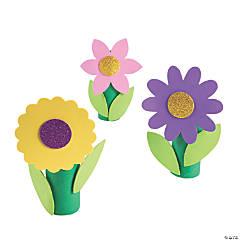Spring Flower Craft Tube Craft Kit