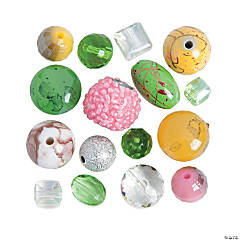 Spring Glass Beads - 5mm - 19mm