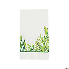 Spring Greenery Dinner Napkins