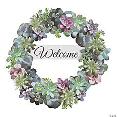 Spring Succulent Welcome Wreath Craft Kit