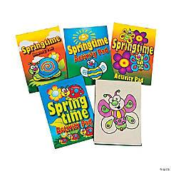 Springtime Activity Pads PDQ