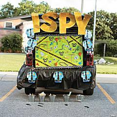 Spy Trunk-or-Treat Décor Idea