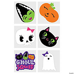 Squad Ghouls Temporary Tattoos
