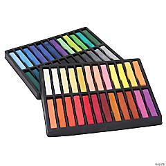 Square Artist Pastels, 48 Assorted Colors, 2.38
