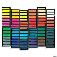 Square Chalk Pastels, Pack of 144
